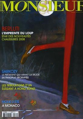 monsieur Sélection Presse Masculine de mai 2008