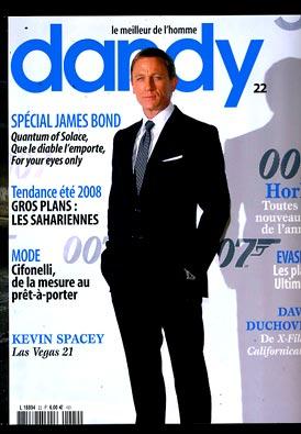 dandy Sélection Presse Masculine de juillet 2008