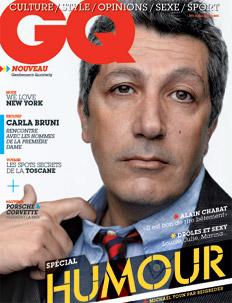 gq Sélection Presse Masculine de juillet 2008