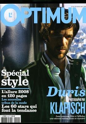 optimum Sélection Presse Masculine de juillet 2008