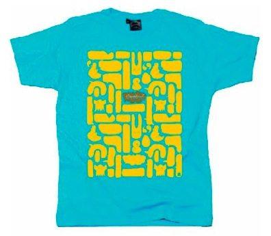 Urban retro Le T shirt imprimé