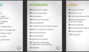 sommaire ebook look