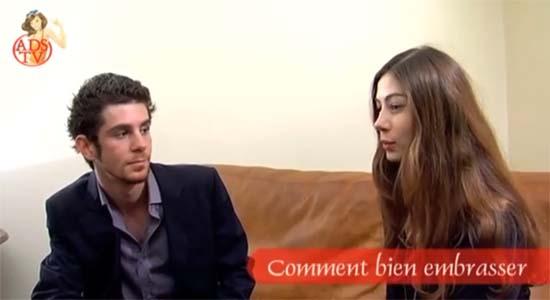 comment bien embrasser Comment bien embrasser une fille (vidéo)