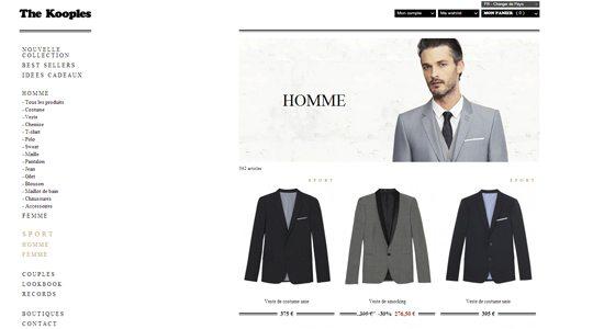 Boutiques en ligne mode masculine Shopping en Ligne : 10 boutiques à visiter