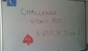 Challenge vidéo ADS