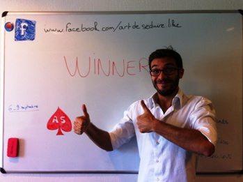 Artdeseduire Selim Niederhoffer Challenge Video vainqueur Challenge vidéo Artdeseduire : et le gagnant est…