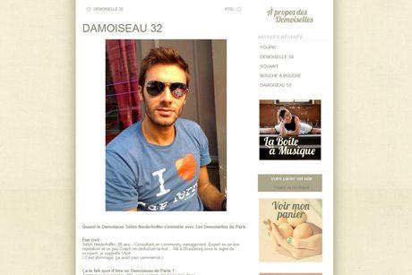 Les Demoiselles de Paris ArtdeSeduire.com dans les médias