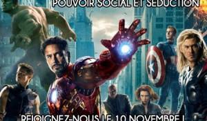 Conférence Pouvoir social et séduction Avengers