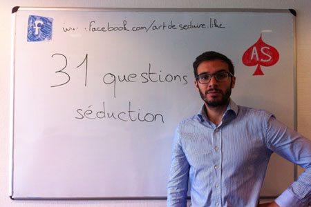 31 questions séduction Défi 31 Jours : 31 Conseils Séduction en Vidéo