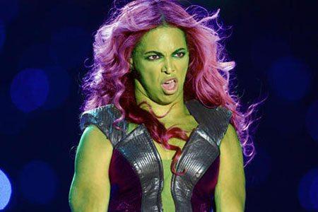 she hulk beyonce Les 10 Phrases que les Femmes Détestent !