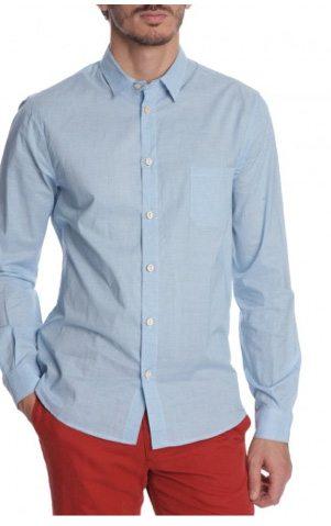 chemise bleu ciel homme Guide du style: back to basics !