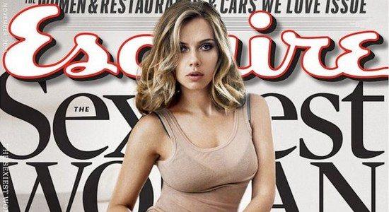 HT scarlett johansson cover nt 131007 16x9 992 Scarlett Johansson, élue Femme la plus Sexy au Monde !