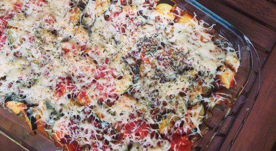 Lasagnes final Des lasagnes végétariennes légères pour une première