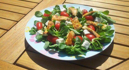 salade Le Combat des Chefs Episode 1 : la salade Sélim