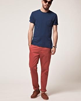 Chino coloré pour homme Les Indispensables du Vestiaire Masculin