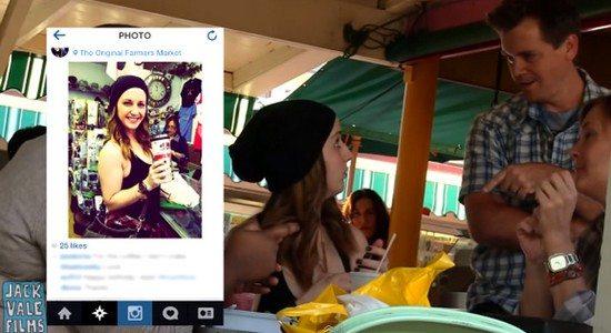 SOCIAL MEDIA EXPERIMENT Comment aborder une inconnue grâce aux infos qu'elle partage sur les réseaux sociaux ?