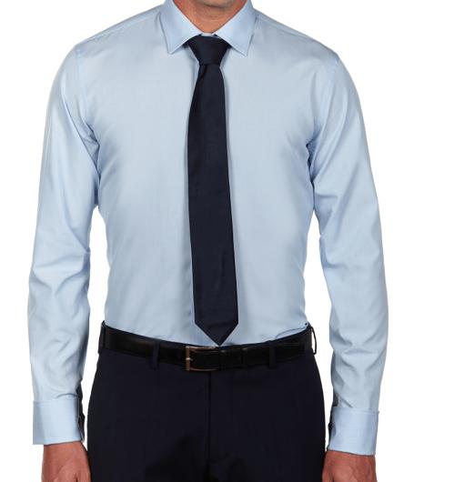 chemise bleue homme Les Indispensables du Vestiaire Masculin