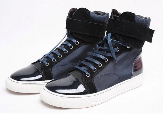sneakers hautes pour homme Les Indispensables du Vestiaire Masculin