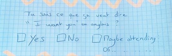 Technique drague papier stylo  Comment aborder une fille avec un papier et un stylo... (et repartir avec son numéro !)