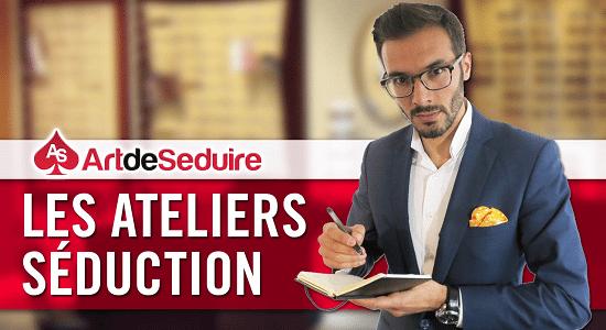 Atelier séduction Artdeseduire<center>Les Ateliers Séduction Artdeseduire</center>