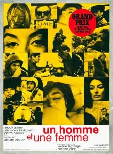 UN HOMME ET UNE FEMME 221x300 22 films de lovers pour séduire une fille sur votre canapé