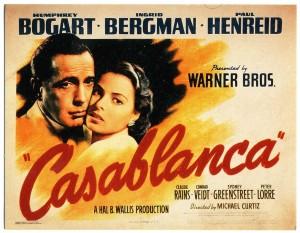 casablanca 300x233 22 films de lovers pour séduire une fille sur votre canapé