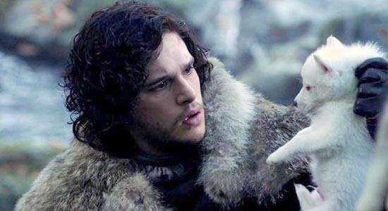 jon snow loup Pourquoi je préfère la vie à la Nights Watch à la vie de couple, par Jon Snow