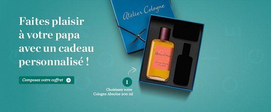 Atelier Cologne Fete des pères Artdeseduire Shopping : 7 Cadeaux de dernière minute pour la Fête des Pères !