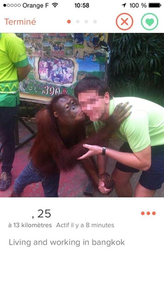 tinder 1 Comment MAL choisir sa Photo de Profil sur TINDER : les 10 Pires Photos à éviter !