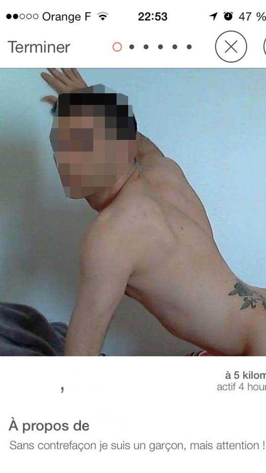 tinder 5b Comment MAL choisir sa Photo de Profil sur TINDER : les 10 Pires Photos à éviter !