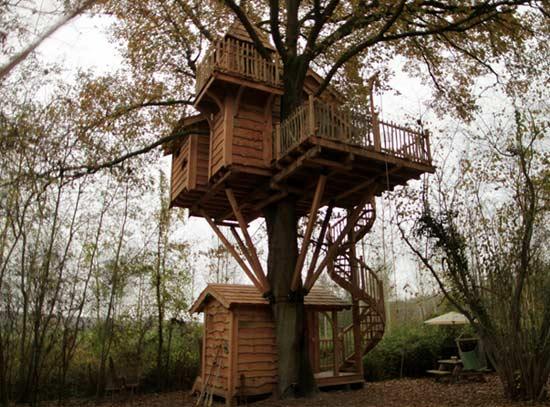 cabane arbre La Liste Ultime des 35 Endroits pour faire LAmour