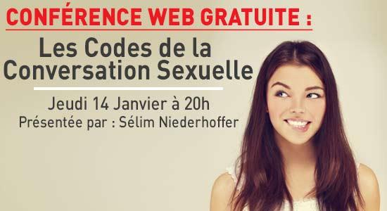 conference codes de la conversation sexuelle Le Code de la Conversation Sexuelle (Conférence en Ligne Gratuite)