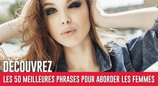 50 Phrases pour Aborder les Femmes
