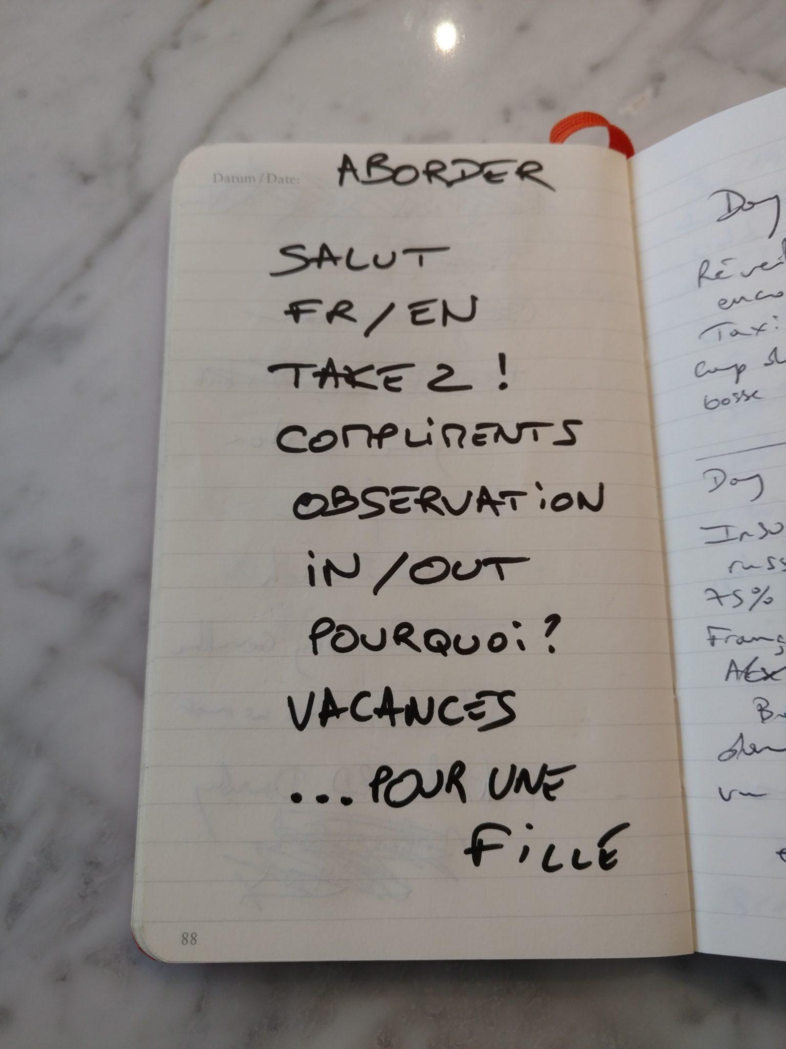 carnet coach selim Le Carnet Secret du Coach: La Ligne De Conduite