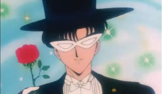 offrir des fleurs à une femme Sailor Moon 560x325 Comment Offrir des Fleurs à une Femme ?