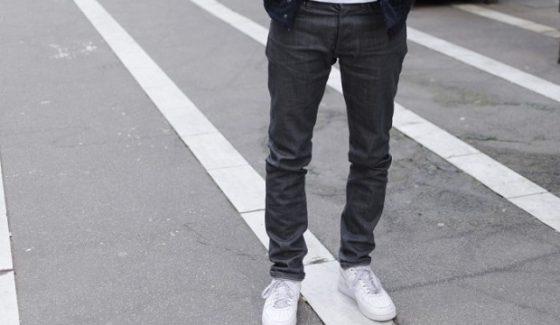 jean gris homme bonnegueule  560x325 Jeans, Chaussures, Veste : Tout Ce quil Faut Avoir Cette Rentrée