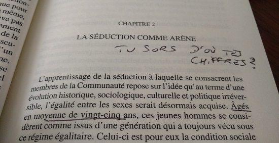 Livre français sur la communauté de la séduction Alpha Male de Mélanie Gourarier : Une Etude Ratée de La Communauté de la Séduction