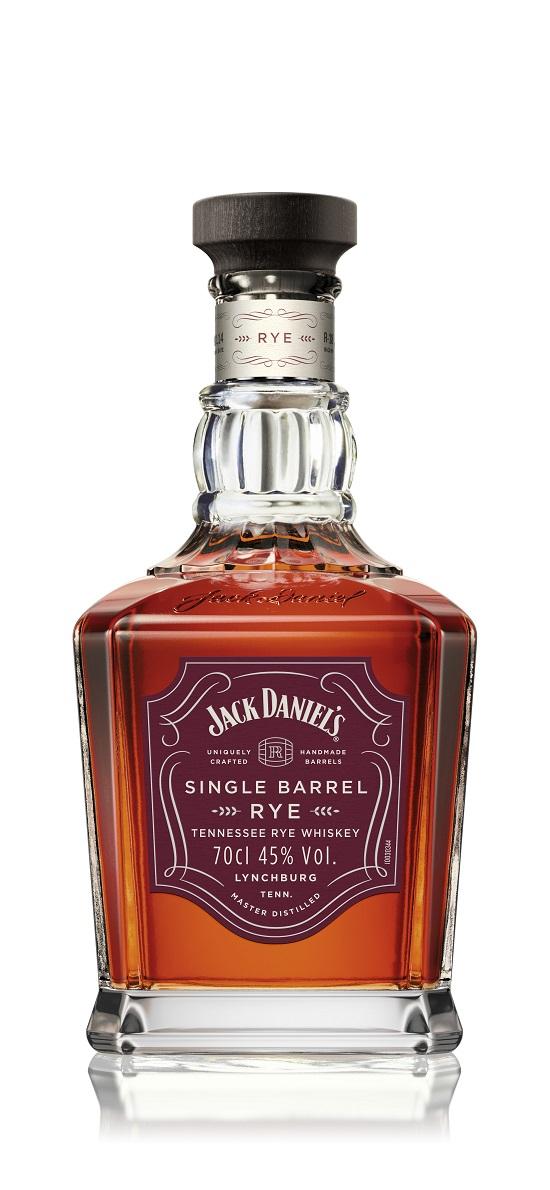 JACK DANIELS SINGLE BARREL RYE 51.50 euros Jack Daniels Dévoile Ses Nouveaux Whiskys 2017