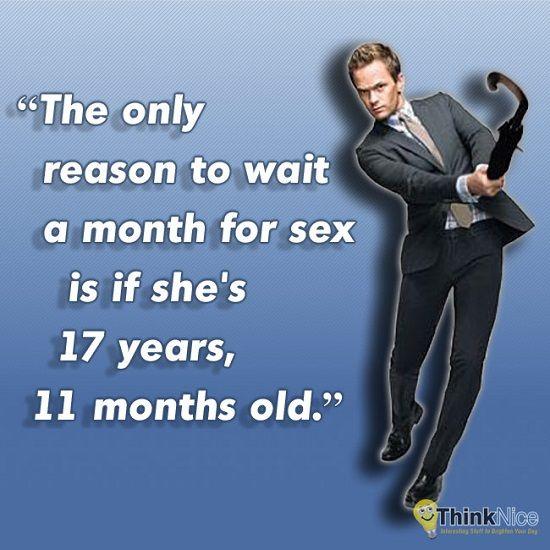 Barney Stinson attendre 30 jours pour coucher 3 Raisons d'Attendre 30 Jours pour Faire l'Amour