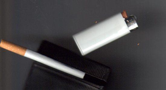 La cigarette et les filles