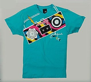 Pop tee cuba blue chez Jack Jones Le T shirt imprimé