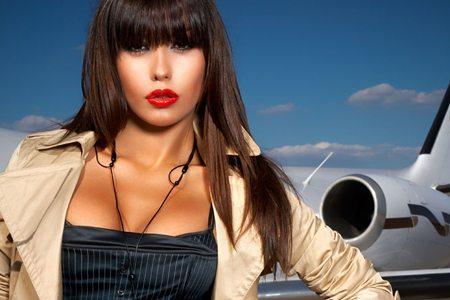 Draguer dans l'avion et le train
