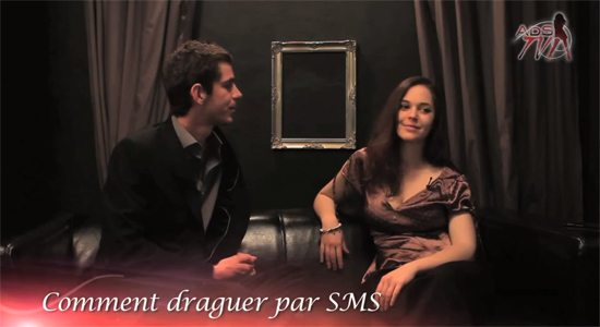 Comment draguer par sms Draguer par sms (video)