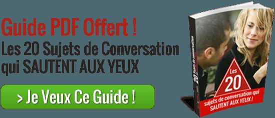 20 sujets de conversation