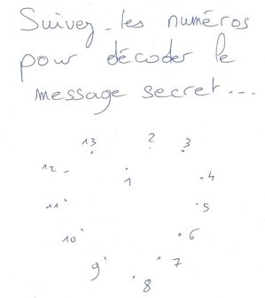 Le message secret 9 manières d'aborder une fille en dessinant