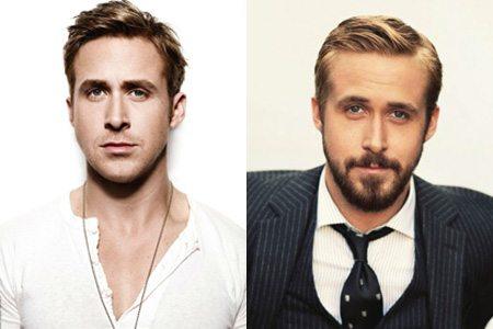 Barbe de dix jours Ryan Gosling