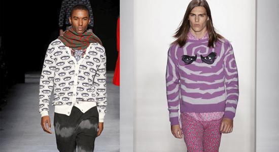 Fashion week imprimés homme difficiles a porter
