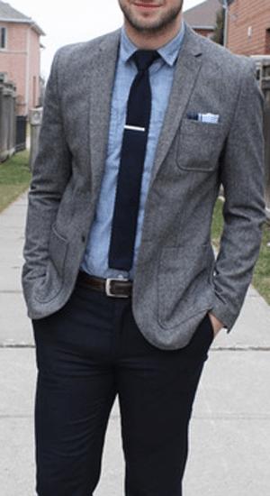 couleurs basiques vestiaire masculin