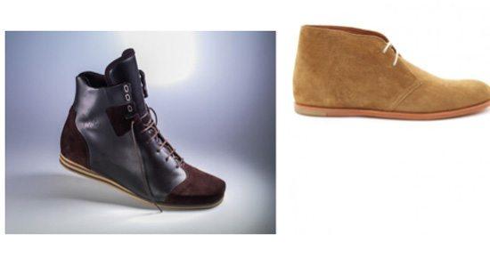 desert boots et sneakers