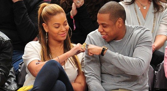 Celebrities Attend The New Jersey Nets v New York Knicks Game - February 20, 2012